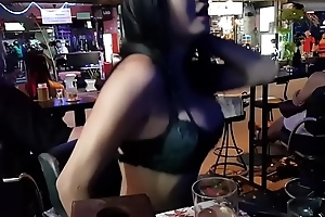 Foetus from Poland go off the deep end in a ladyboy bar