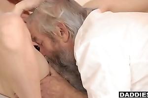 Boyfriend Catches Pervert Papa Fingering His Slutty GF &amp_ Punishes Will not hear of