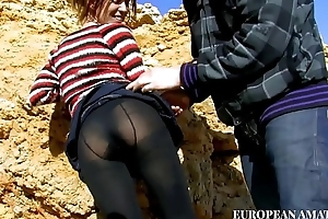 Meeting with a juvenile unspecific on the beach, first a nice blowjob with the addition of throe I with her anent my home with the addition of I have a passion her
