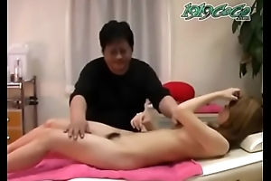 Japanese young amateur massage