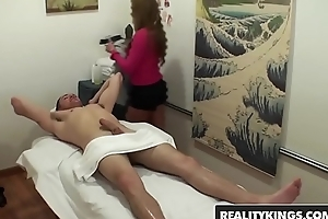 Asain masseuse (Mia Lelani) Gives happy rubs and rides bushwa - Reality Kings