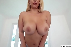 Horny cougar Nina Kayy surprise sex for stepson