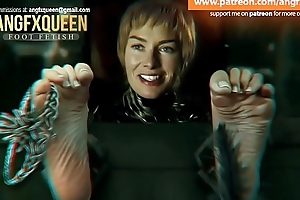 Cersei Lannister feet soles prickling Lena Headey