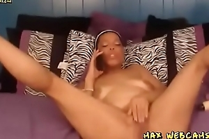 Coal-black Momma Anal Ring up Sex On Cam