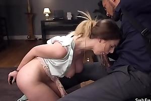 Chunky louring cock anal fucks affianced babe