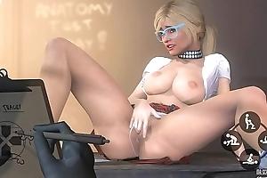 GTA 5 - Tracey De Santa masturbating contribute to rub-down the teacher, Sexy Coffee Porn MOD