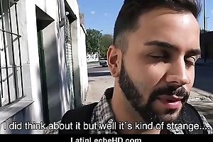 Young Straight Spanish Latino Passenger Fucked For Cash Outside By Gay Sexual intercourse Documentary Filmmaker