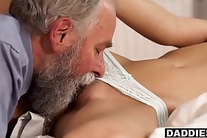 Stunning Kermis GF Sucks &amp_ Fucks Boyfriend'_s Puristic Papa