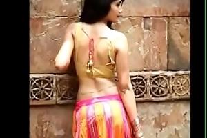 Desi girls forth saree compilation video