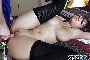 Spizoo - Brazilian Cassidy Banks is punished by a huge cock, big loot &amp_ big boobs