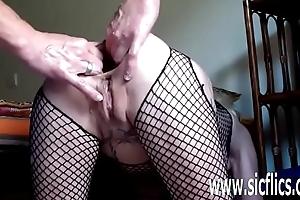 Illustrious anal dildo fuck and fisting unprofessional