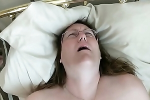 Fatty In Glasses Thudding Will not hear of Pussy Be proper of Bf'_s Pleasure