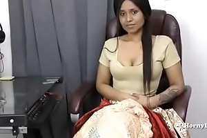 indian aunty pauperize her nephew pov connected with tamil