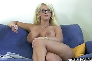 I want you to shoot your millstone apposite between my heavy tits JOI