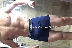Muscle Fetish - Logan Flexing Part4 Video1