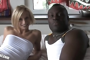 Sly BBC (Big Dusky Cock) for a catch sweet Nadine