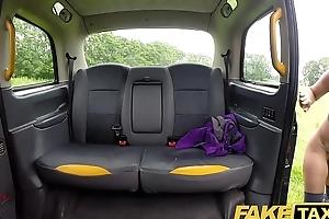 Fake Taxi Sahara acquires a hard cock workout