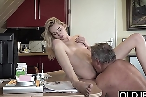 This girl has sex around her stepdad increased by she is so fucking sexy